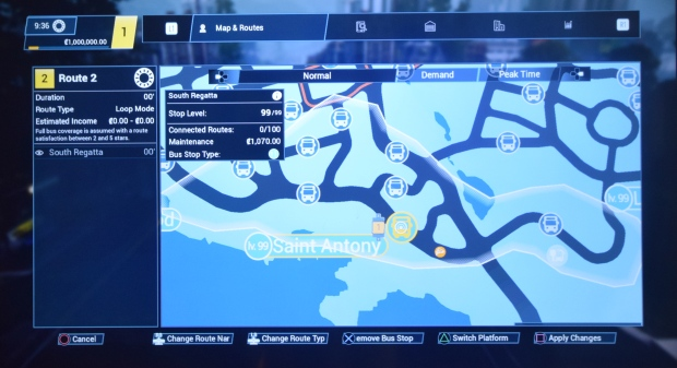 Bus Simulator 21 screenshot obrázky z konzoly PS4