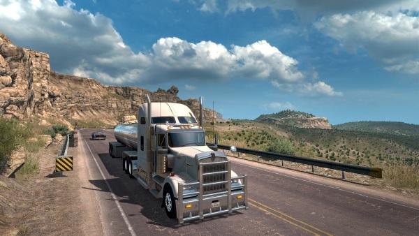 Herní simulátor American Truck Simulator a jeho bohatší Zlatá edíce