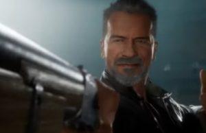 Arnie in Mortal Kombat