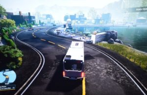 Bus Simulator 2021 screenshot z playstation 4