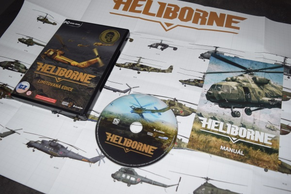 Heliborne Simulator vrtuľníkov unboxing