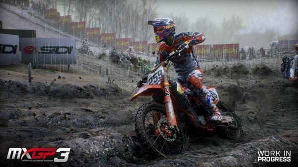 MXGP3 - motocrossová počítačová hra