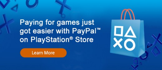 playstation store paypal