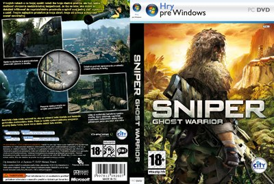 Sniper Ghost DVD cover