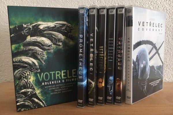 Votrelec 6 DVD kolekcia